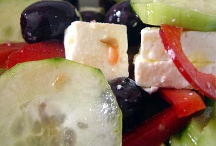 insalata,greca,yogurt,olive,estate,stracchino,peperoni